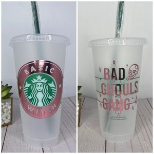 Basic Witch Reusable Starbucks Cold cup